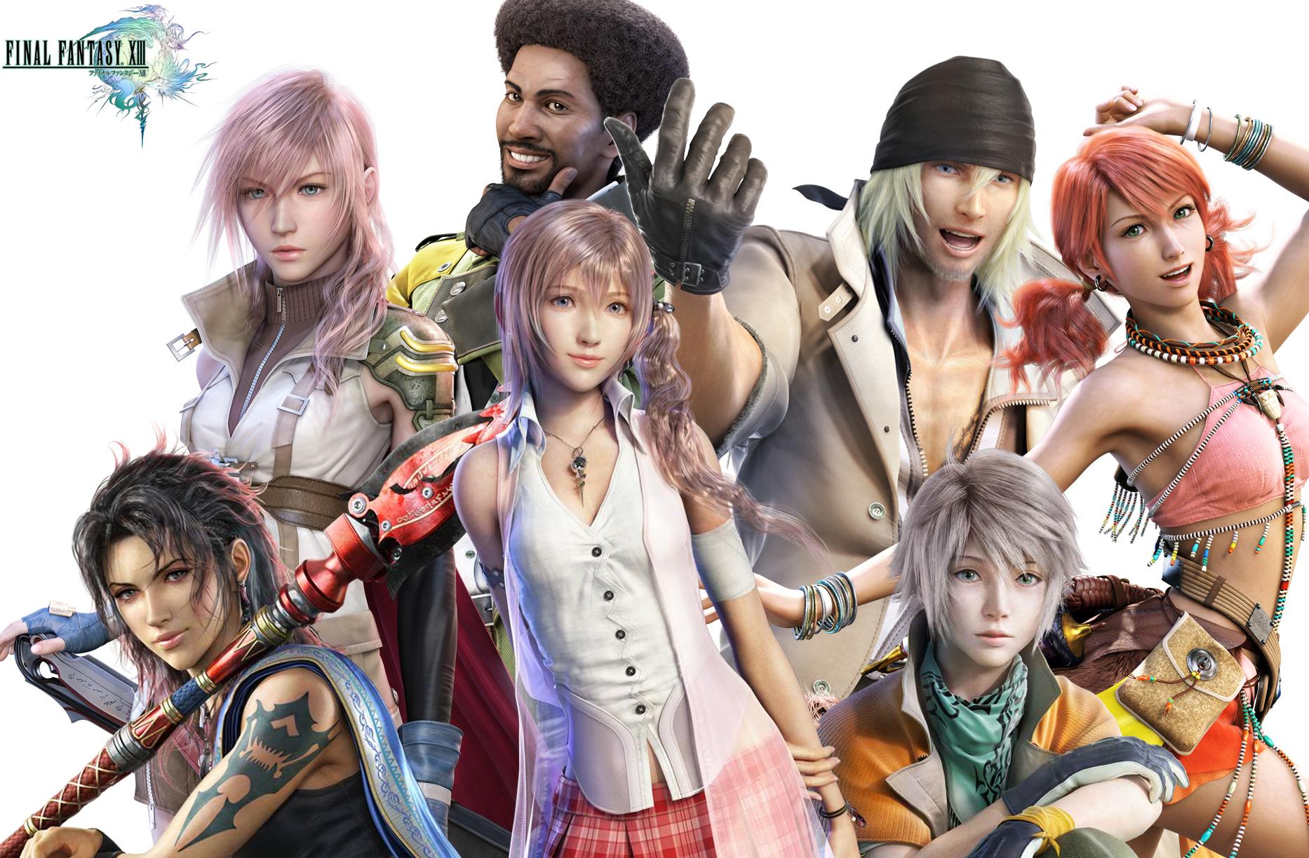 All final fantasy main characters - photo#24