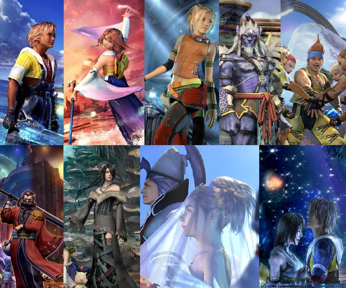 image Final fantasy x at zanarkand extra scene 3d
