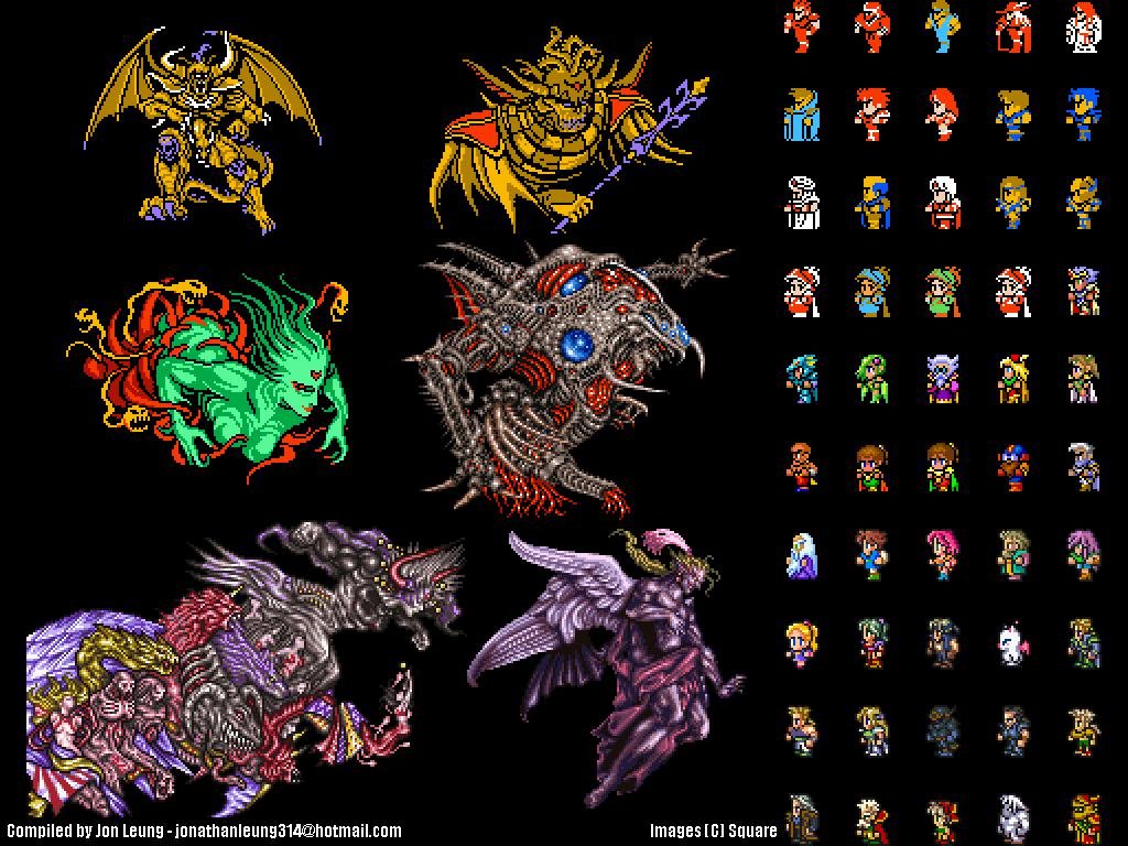Final Fantasy Wallpapers Ffvi All Things Final Fantasy