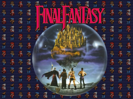Image result for final fantasy 1 wallpaper